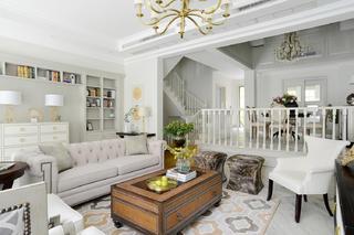 别墅混搭装修沙发图片