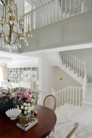 别墅混搭装修楼梯图片