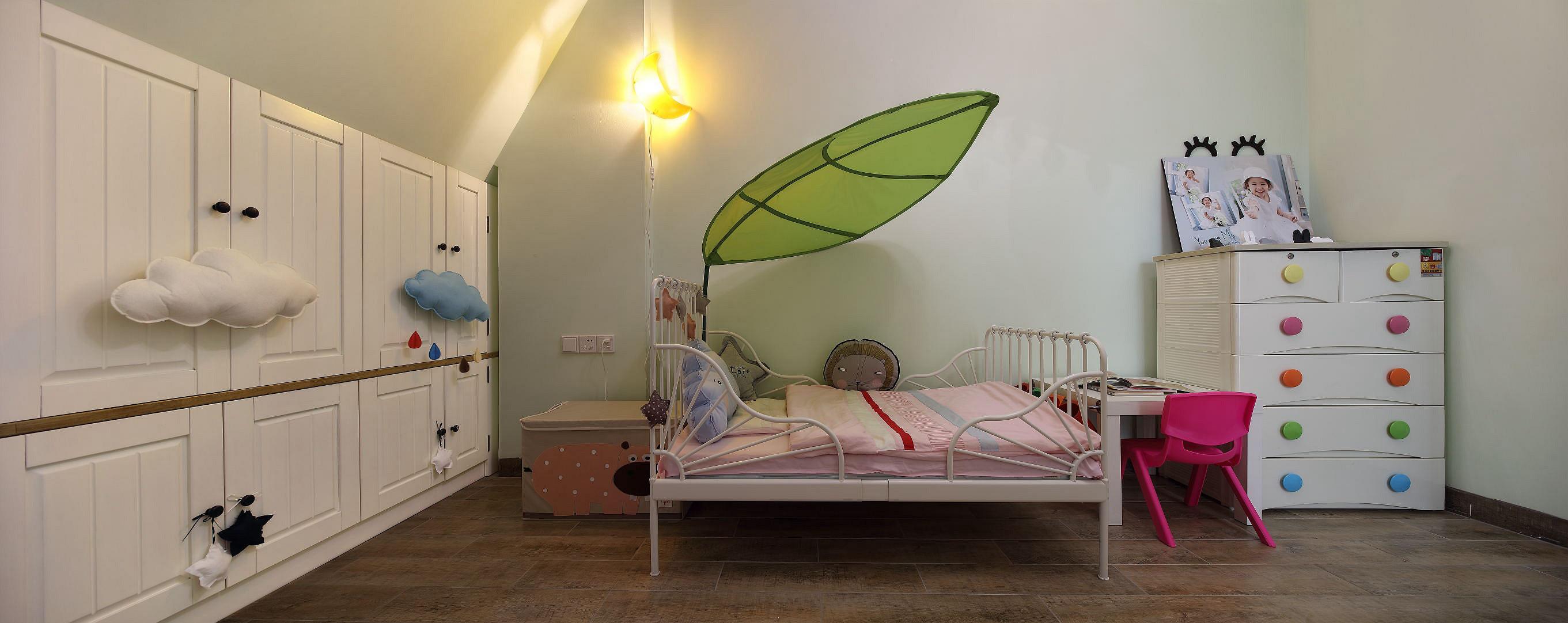 复式北欧风格家儿童床图片
