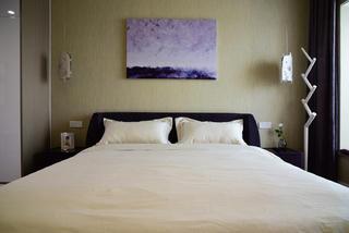 170平简约装修卧室背景墙图片