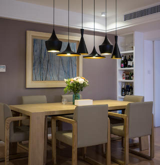 150平现代简约装修餐厅设计图