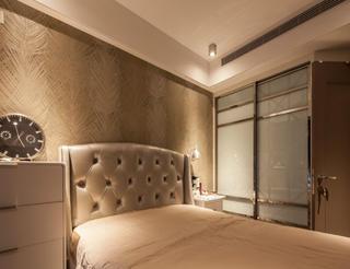 复式现代风格装修卧室搭配图