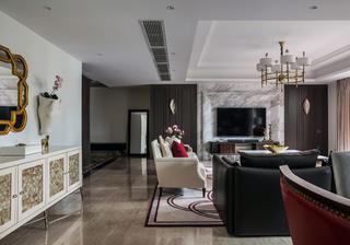 大户型美式装修客厅搭配图
