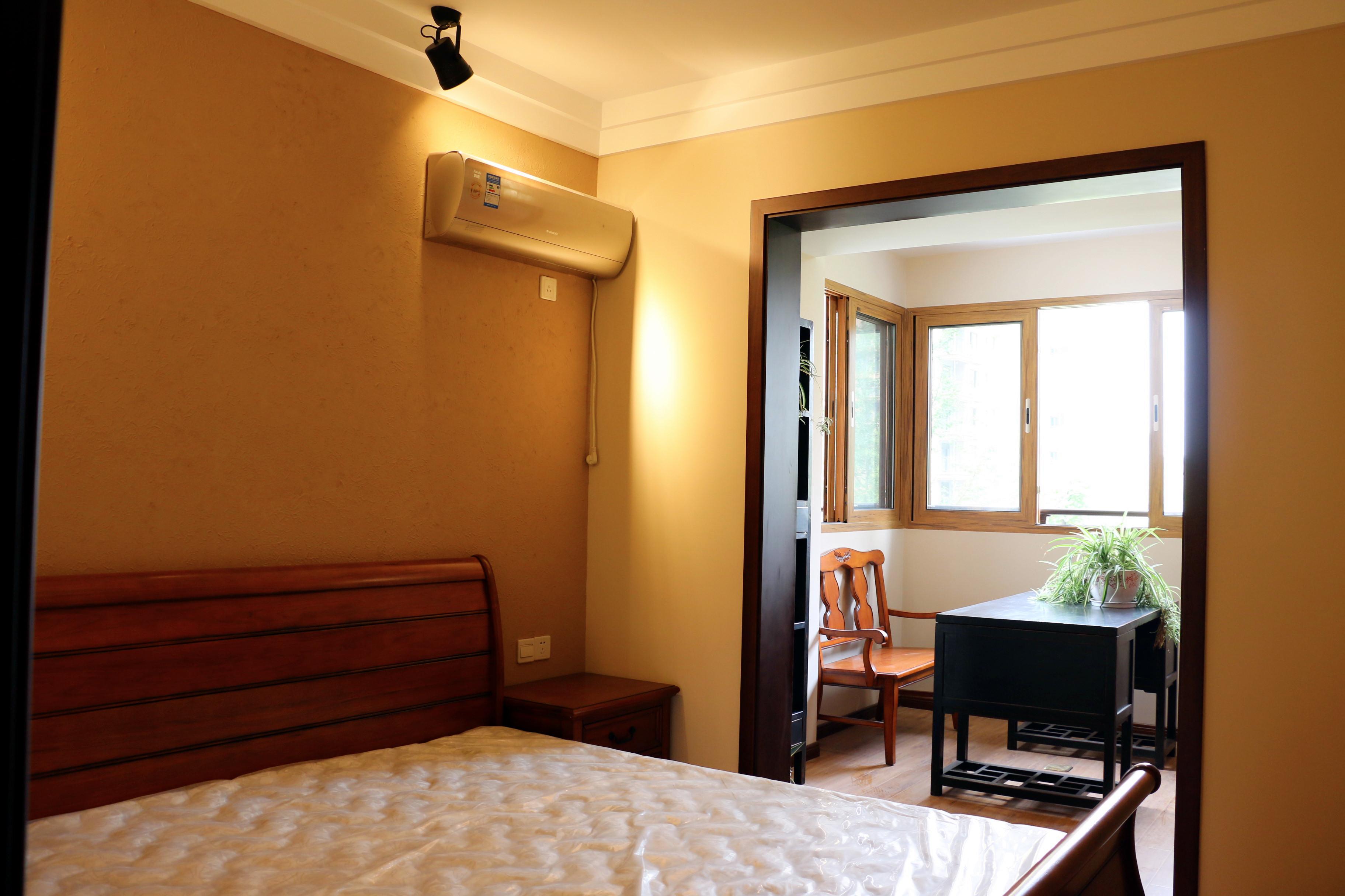 中式风格装修卧室装潢图