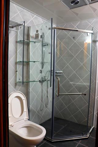 中式风格装修卫生间设计图