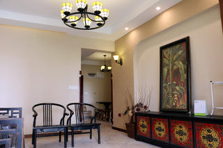 中式风格装修客厅设计图