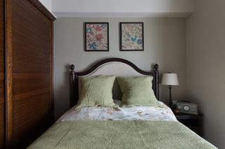 三居室美式风格装修次卧搭配图