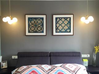 大户型装修卧室背景墙图片