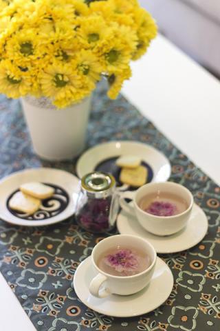 90平北欧风格家茶几装饰摆件
