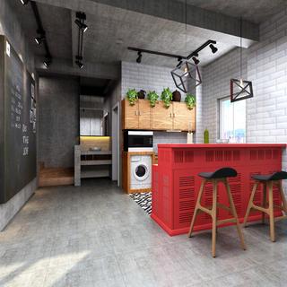 Loft风格装修吧台设计