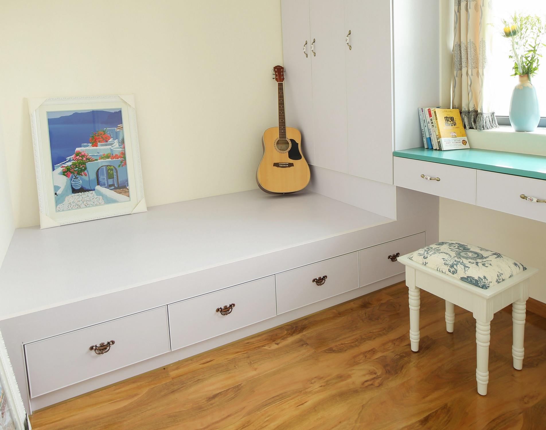 小户型地中海风格家卧室榻榻米设计