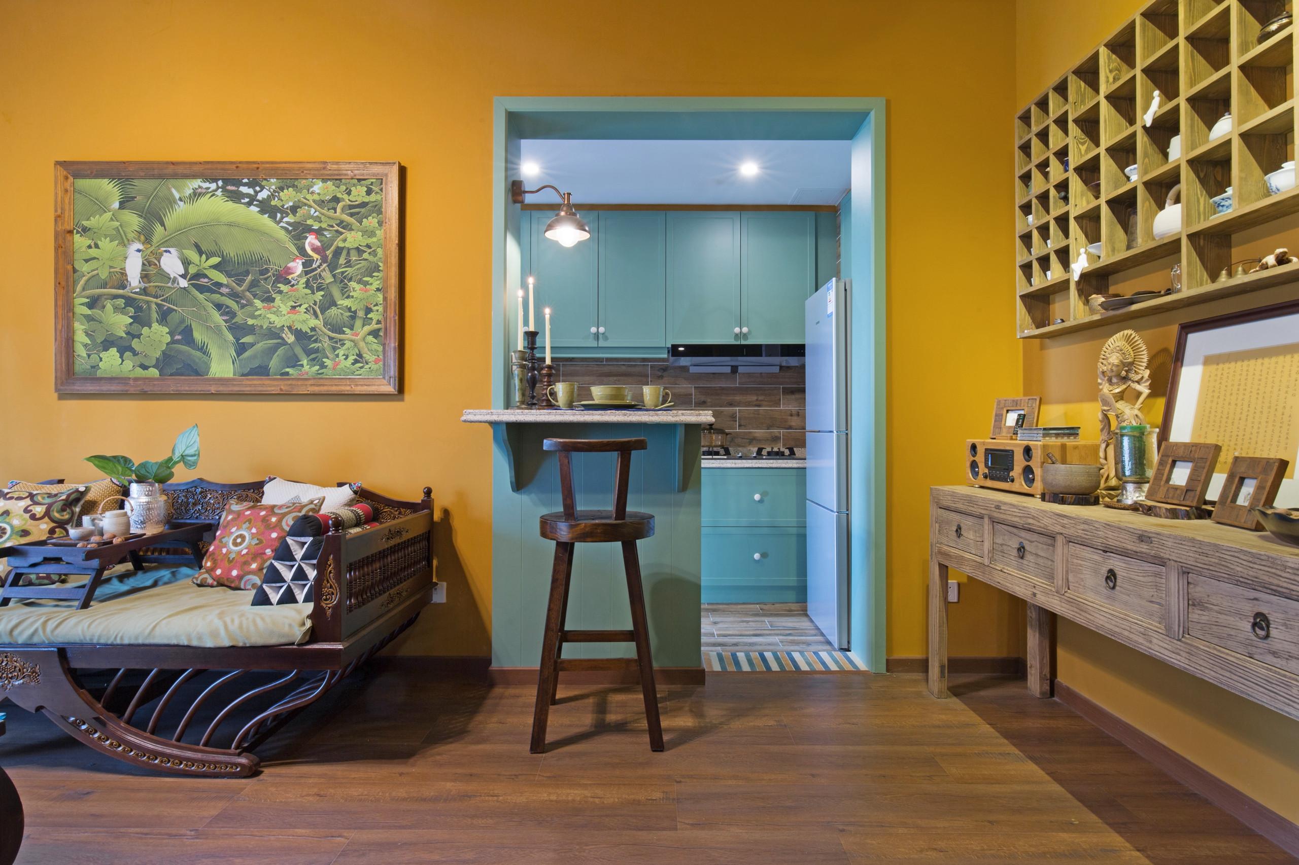 一居室小户型装修吧台设计