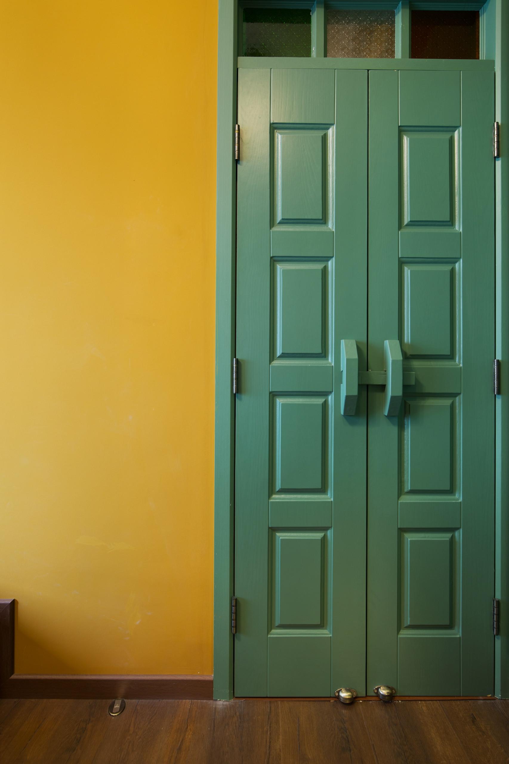 一居室小户型装修房门设计