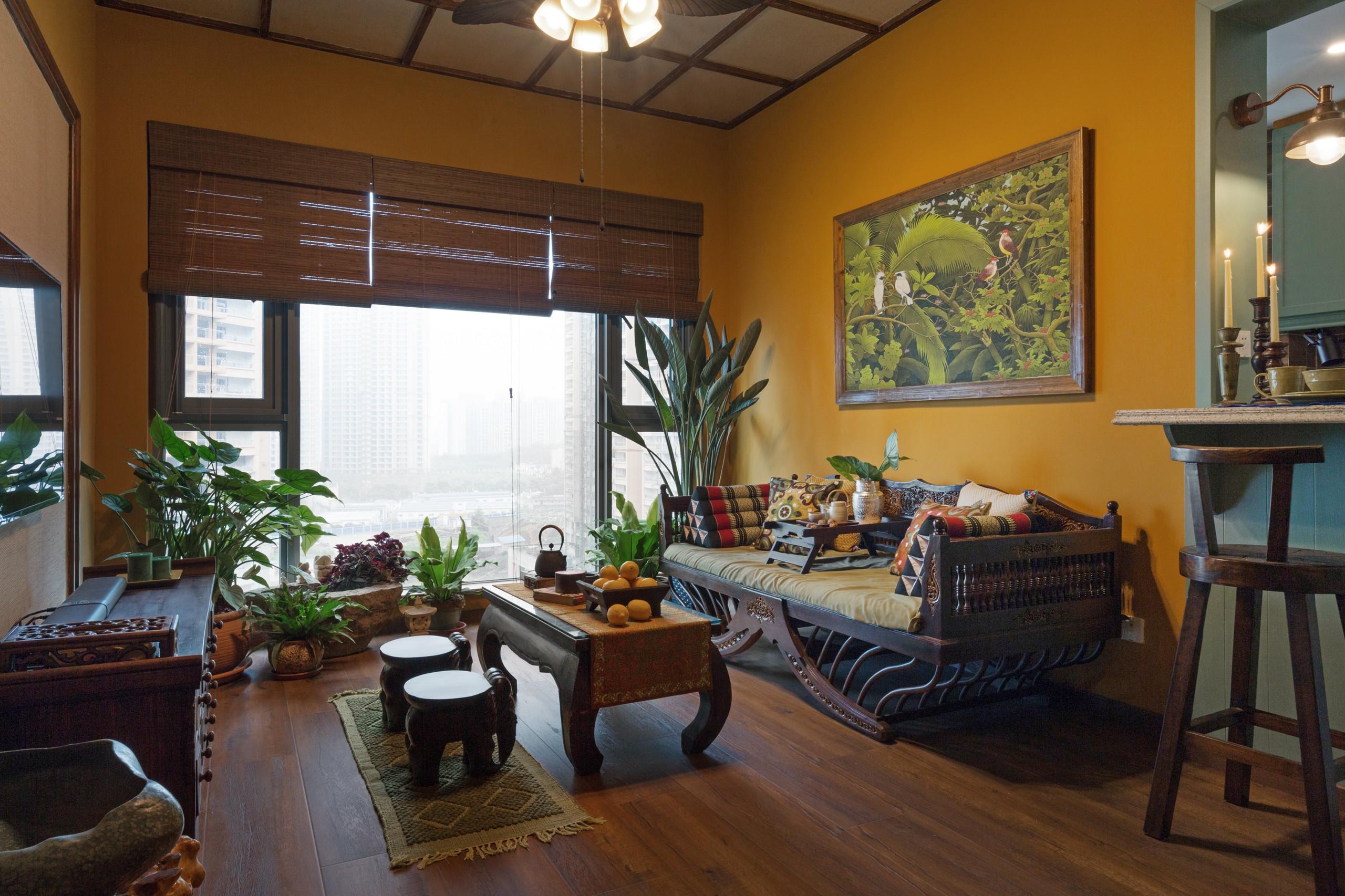 一居室小户型装修客厅搭配图