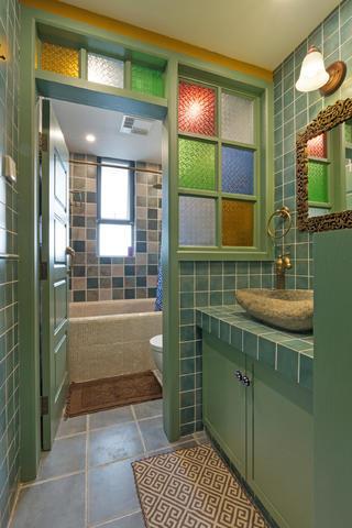 一居室小户型装修卫生间设计图