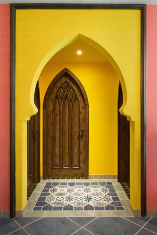 东南亚风格二居门厅图片