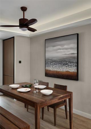 103平简约风格家餐厅设计图