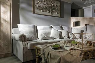 214㎡美式设计沙发背景墙图片