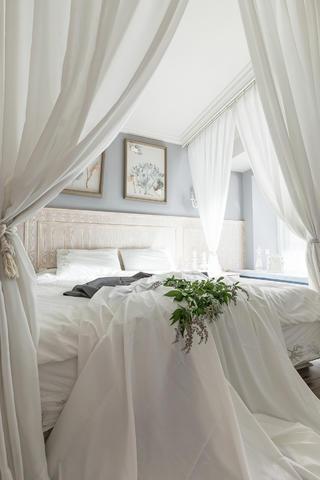 214㎡美式设计卧室布置图