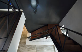 复式简约装修楼梯设计