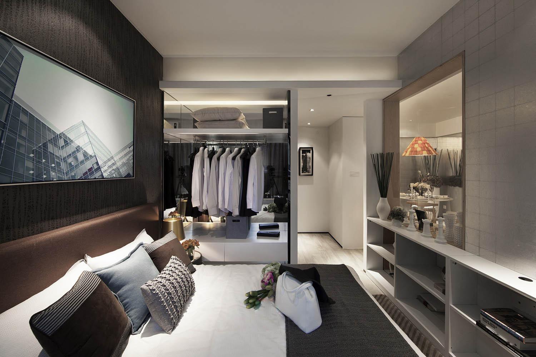 小户型北欧风格家卧室设计图
