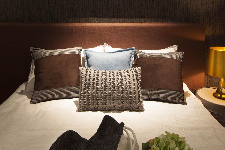 小户型北欧风格家床上用品图片