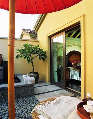 托斯卡纳风格别墅装修露台图片