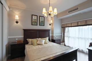美式风格别墅装修次卧设计图