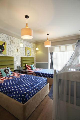 美式风格别墅装修儿童房布置图