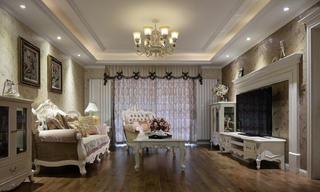170平欧式装修客厅设计图