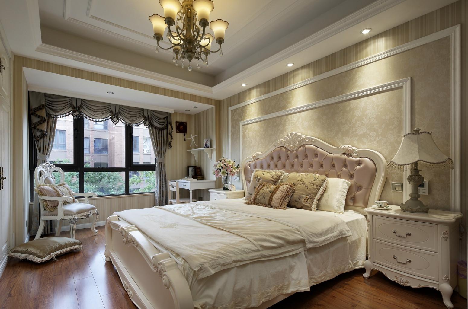170平欧式装修卧室效果图