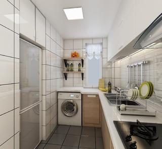 北欧小户型装修厨房效果图