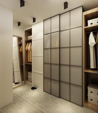 北欧小户型装修衣柜图片