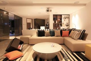 大户型现代风装修沙发图片