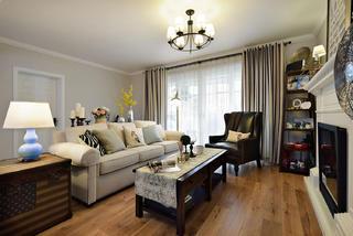 160平美式风格家沙发图片