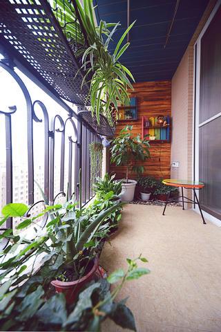 地中海风格三居阳台欣赏图