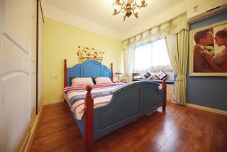 地中海风格三居卧室设计图