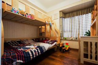 后现代风格别墅装修儿童房设计图