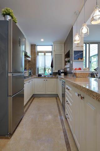 简美二居室装修厨房构造图
