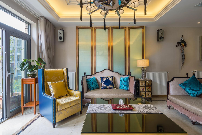 大户型中式风格家沙发椅图片
