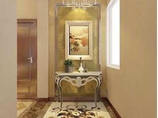 新古典欧式风情别墅装修玄关设计