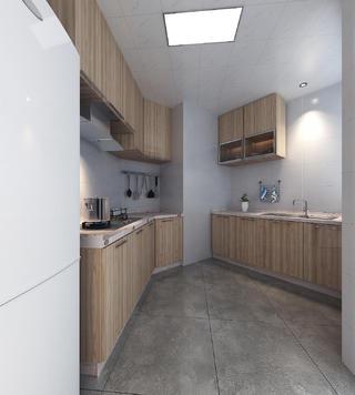 110平北欧装修厨房设计图