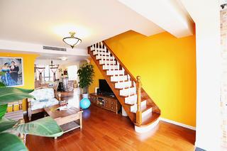 复式混搭装修楼梯设计