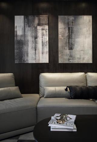 简约复式装修沙发图片