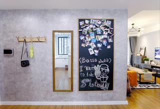 110平北欧风格家照片墙
