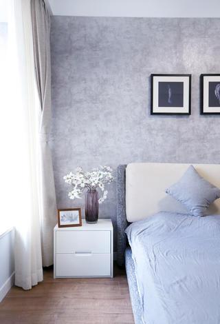 110平北欧风格家床头柜图片