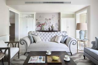 大户型美式风装修沙发图片