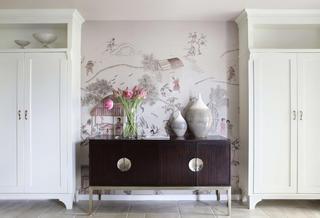 大户型美式风装修装饰柜设计