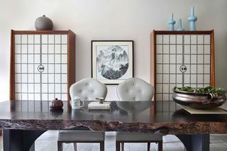 大户型美式风装修餐边柜图片