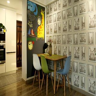 78平简约风格公寓装修图片